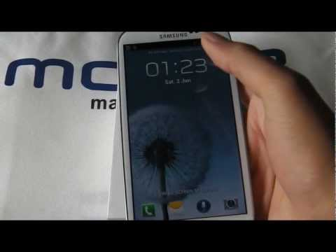 Samsung GALAXY S III (S3) first look, tour and comparison