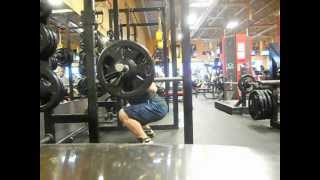Low bar squats 315x3