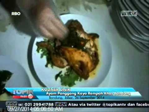 [ANTV] TOPIK Kuliner Ayam Panggang Rosemeri Khas Bandung