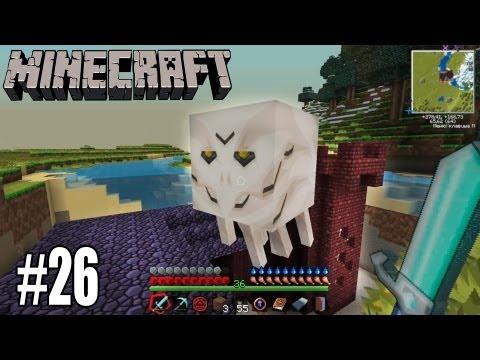 Minecraft с модами #26 - АДСКАЯ КРЕПОСТЬ ПОСРЕДИ ЛЕСА!