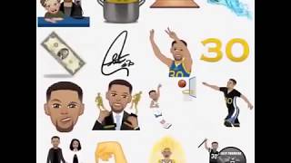 Stephen Curry Stickers for WhatsApp WAStickerApp StephMoji Android App