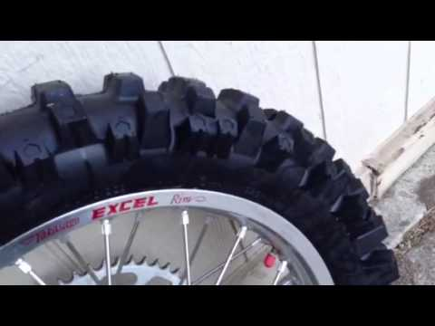 Dirt Bike Tire Testing - part 1