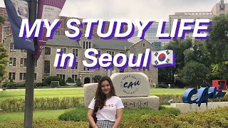 STUDY in KOREA?? CAMPUS LIFE IN CHUNG-ANG UNIVERSITY