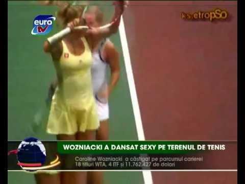 Sport Euro TV 24.11.11 / Wozniacki Dancing Dance Slovakia Bratislava Danza Kuduro Cibulkova