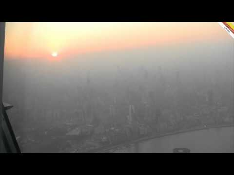 Shanghai World Financial Centre, view from