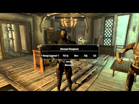 Advanced Mannequins v1.1 Skyrim Mod