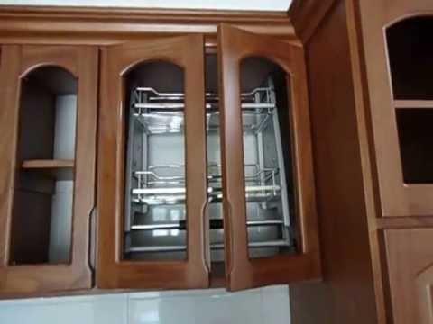 Cocina integral totalmente en madera youtube for Cocinas integrales de madera