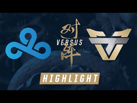 C9 vs ONE - Worlds Play-In Match Highlights (2017)