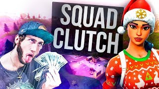 Clutched a Squad Win for FaZe Banks (Fortnite)