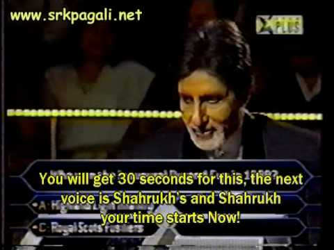 Shahrukh At Kbc Last Part video