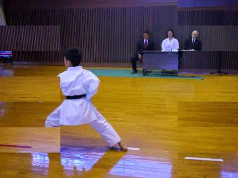 Japan Karate Association (Gifu-pref) Promotion test for 2nd dan (Kata :Empi)
