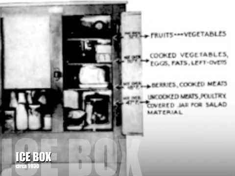 Antique ice box circa 1930's