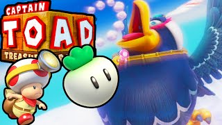 Captain Toad Treasure Tracker Wingo Boss END Episode 1 HD Gameplay Walkthrough Wii U PART 5