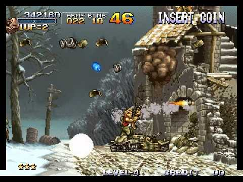 Metal Slug - Super Vehicle-001 - Metal Slug - Mission 3 Perfect Run - User video