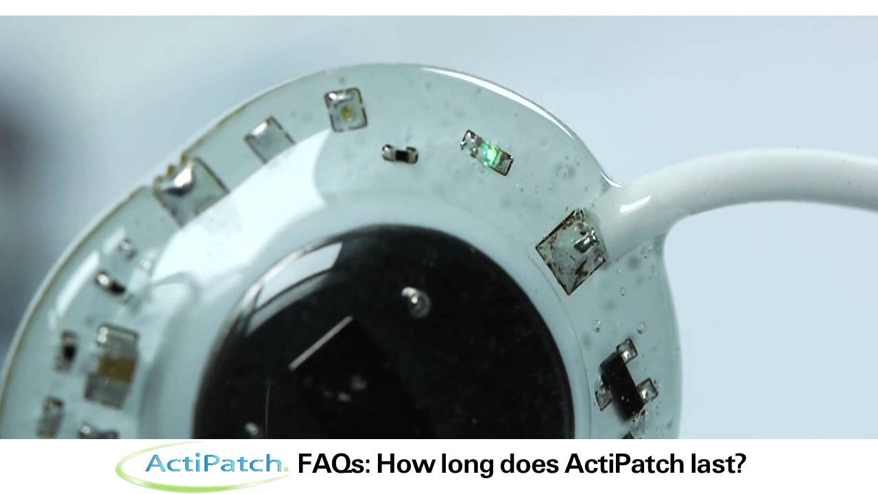 ActiPatch® FAQ: How Long Does
