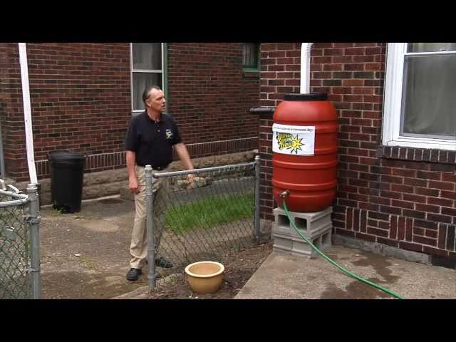 Pittsburgh Rain Barrel Installation Plumbing, Heating, Cooling