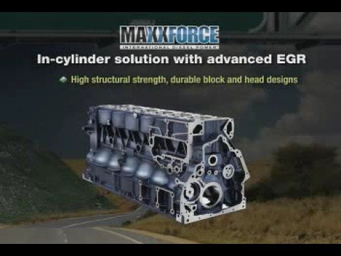 Navistar MaxxForce 2010 Emissions vs SCR