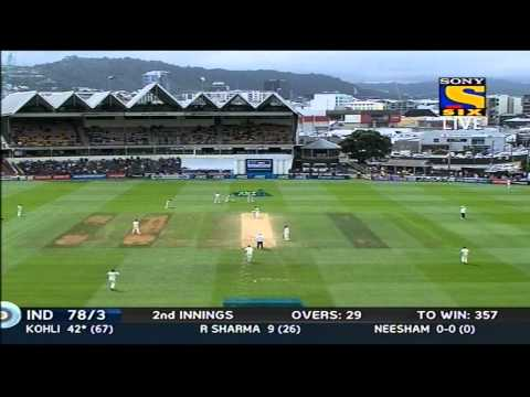 India 2nd Innings | Boundries | India vs New Zealand | Day 5 | 2nd Test | 2014