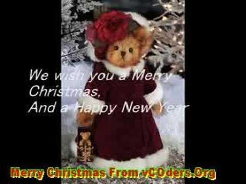 Christmas Songs - We Wish You a Merry Christmas Lyrics
