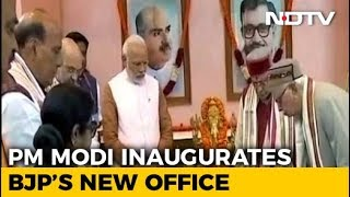 BJP Gets A New Address; Spirit Of New Office Is The Party Worker, Says PM