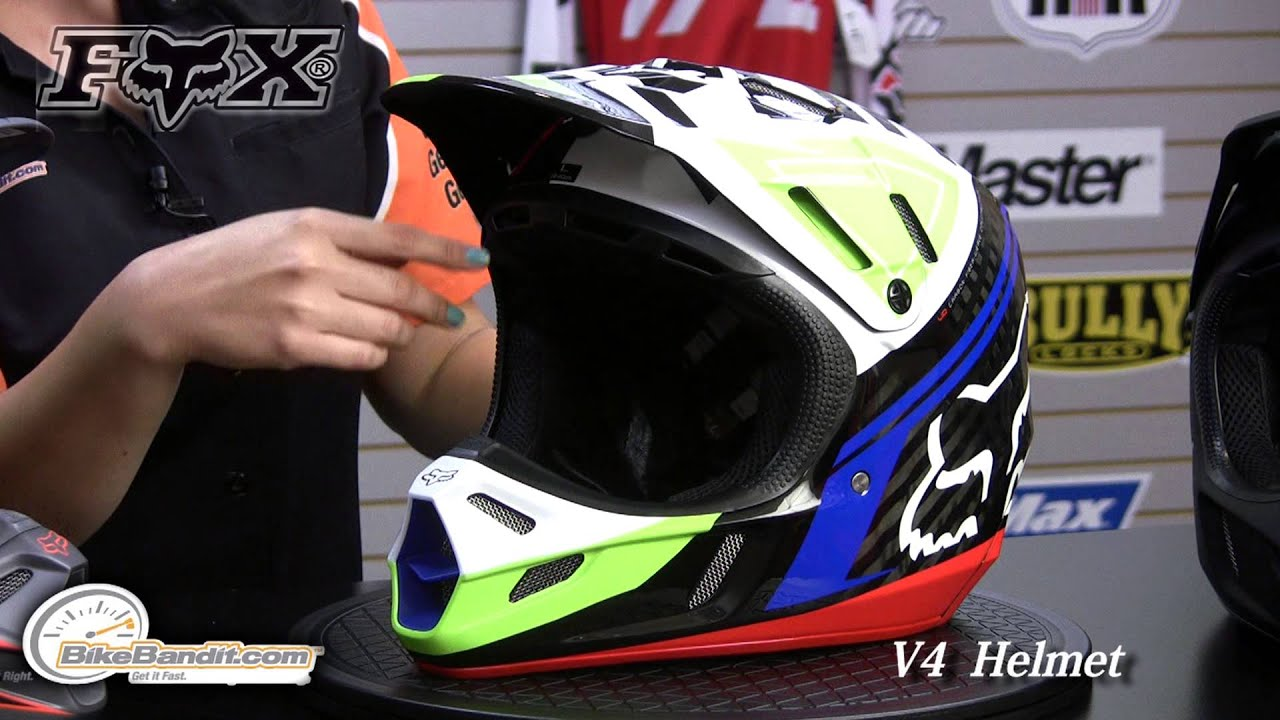 Fox Racing 2017 Race Adult V1 Motocross Motorcycle Helmets