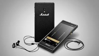 Знакомство со смартфоном Marshall London