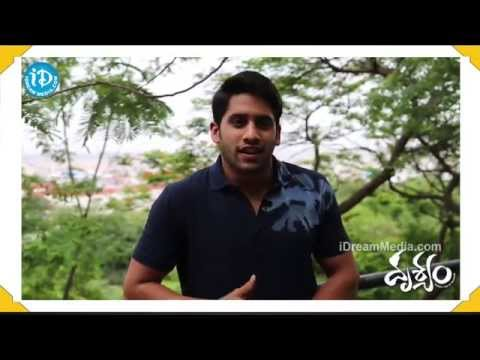 Naga Chaitanya Talks About Drishyam Movie - Venkatesh, Meena video