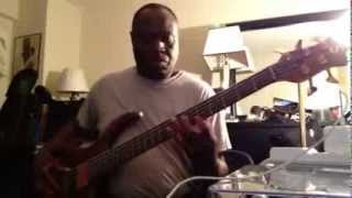 bass cover of lee williams (Come on see about me)  louis jones