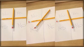 CHARLIE CHARLIE PENCIL GAME PART 2! (GONE WRONG)