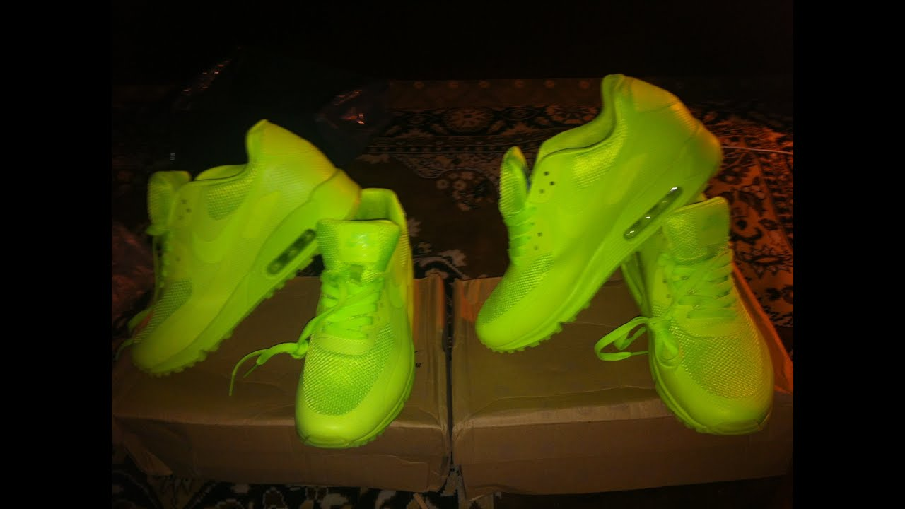 air max 90 hyperfuse neon green