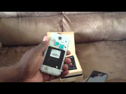 T-Mobile Samsung Galaxy S4 unboxing Black Mist