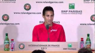 Virginie Razzano Interview Roland Garros 2011