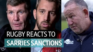 The Rugby World reacts Saracens Salary Cap Sanctions