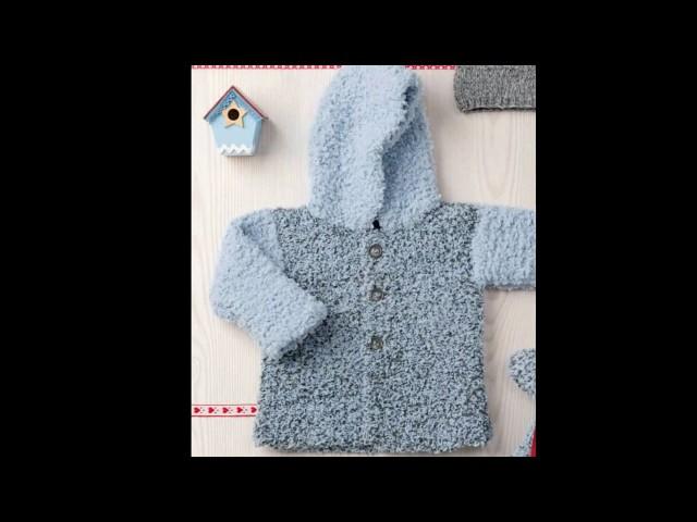Модели вязания.С любовью связано для  малышей.