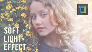 soft light effect | photoshop tutorials | photo effects