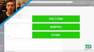 How to add a HTML Sitemap to WordPress (Less than 5 minutes)