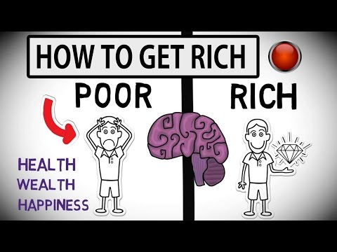 How To Get Rich Difference Between Rich And Poor Mind