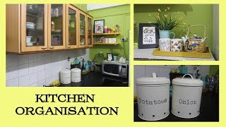Indian Kitchen Organization Ideas | Countertop Organization | Maitreyee's Passion