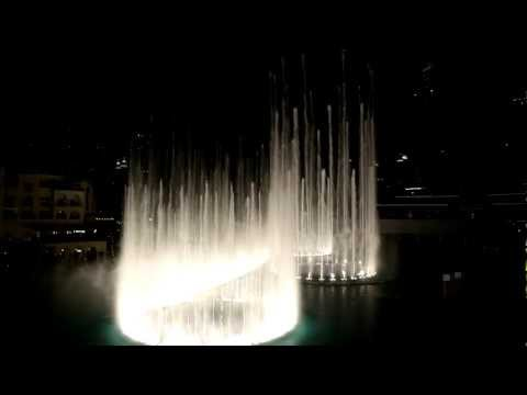 Dubai Fountain - Burj Khalifa - Michael Jackson - Thriller! Full Hd! video