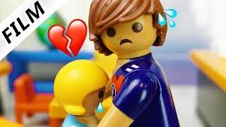 Playmobil Film deutsch   ABFUHR VOM LEHRER - Pia unglücklich verliebt   Kinderserie Familie Vogel
