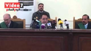 """بالفيديو..لحظة النطق على ممدوح إسماعيل بالمؤبد وبراءة 14 فى قضية """" روض الفرج"""""""