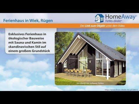 Ferienort Auf Rügen: Exklusives Ferienhaus In ökologischer Bauweise Mit - FeWo-direkt.de Video