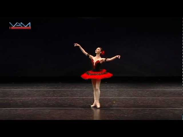 Ryan Lee (age 17) - Ballerina Variation from Paquita -  YAGP NEW YORK FINALS 2012