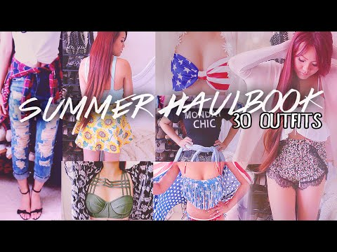 30 OUTFIT IDEAS X SUMMER HAULBOOK