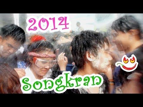 Songkran 2014 Patpong Bangkok  สงกรานต์ Thai New Year Water Festival Thailand