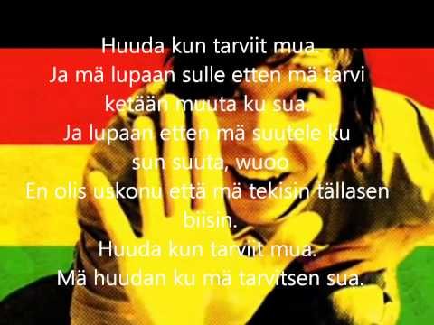 Juju - Huuda (lyrics) video