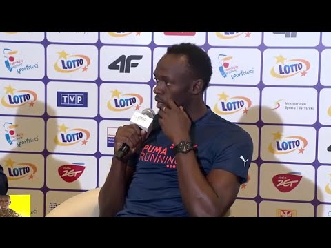 Usain Bolt's Bold Words for Louis Van Gaal and Man United