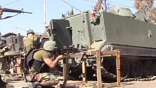 Lebanese forces battle Islamic militants in Tripoli - no comment