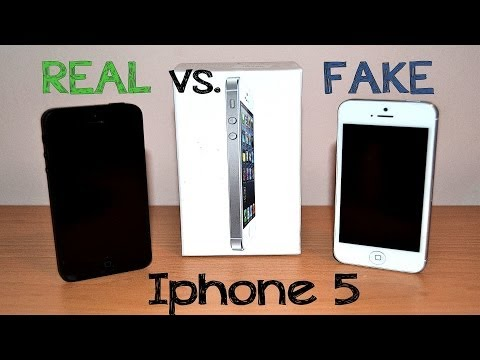Real vs Fake Iphone 5 - Best 1:1 Copy - China clone - Full Review [HD]
