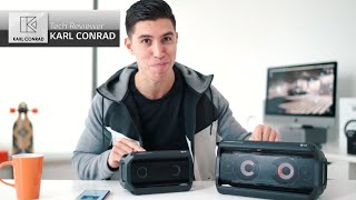 LG XBOOM Go l Tech Youtuber Karl Conrad